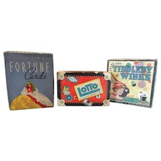 Three Vintage Games in original boxes with all pieces!
