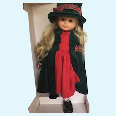 """Gotz Vinyl 18"""" Play Doll in Like New Condition"""