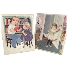 Eloise Wilkins Children's Puzzles and others from the 1950's- 1970's