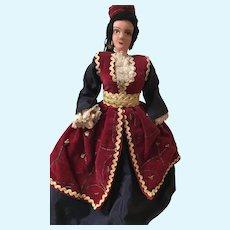 International Costume Doll of Unknown Origin
