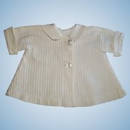 Nice Antique Cotton Ribbed Doll Jacket