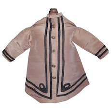 Silk Taupe Fashion Doll Jacket