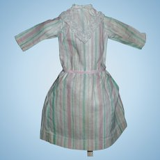 Sweet Early Dress for a Small Antique Doll