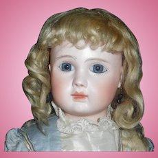 Wonderful Antique Blonde Mohair Doll Wig