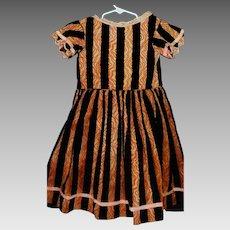 Fabulous Antique Girl's Velvet Holiday Dress