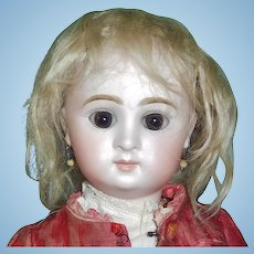 Antique Blonde Mohair Doll Wig TLC