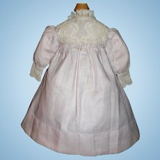 Wonderful Early Antique French or German Doll Dress