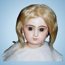 Pale Blond Antique Doll Wig, Needs Styling