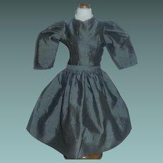 Small Grey 2 Pc Doll Dress