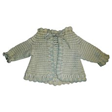 Sweet Antique Knit Sweater, French or German