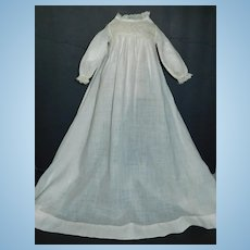 Sweet Small Antique Baby Doll Gown