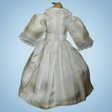 Lovely Antique Silk Doll Dress
