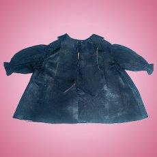 Wonderful Early Black Silk Doll Jacket