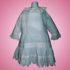 Pretty Antique Child / Large Doll Drop Waist Dress