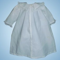 Lovely Antique Doll Chemise / Gown Trousseau