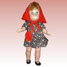 """Poor Poor Pitiful Pearl, 17"""" Vintage Doll"""
