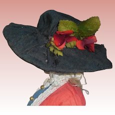 Nice Early Fashion Doll Hat