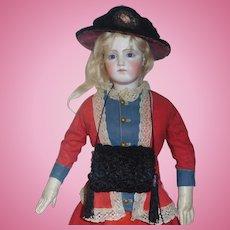 Wonderful Antique Fashion Doll Hat w Muff