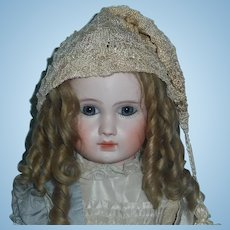 Wonderful Antique Silk Doll Cap w Silk Tassel