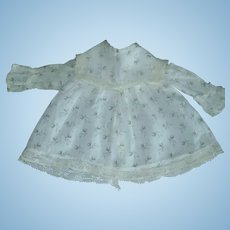 Small Antique Calico Print Doll Blouse