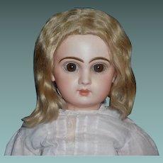 Pretty Blonde Mohair Doll Wig