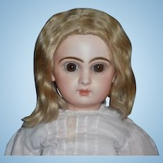 Pretty Blonde Mohair Doll Wig