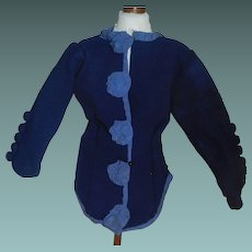 Nice Early Made French Fashion Doll Jacket