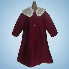 Sweet Early Wool Challis / Silk Doll Coat