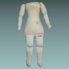 Early Cloth Doll Body