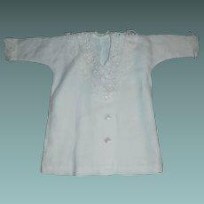 Nice White Linen Doll Jacket. Pretty Lace