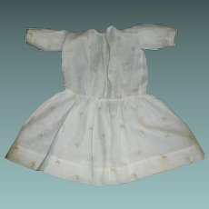 Nice Early Semi Sheer Floral Doll Dress