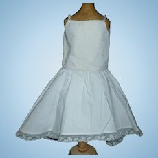 Nice Antique Fashion Undergarments, Fashion Petticoat with a Fabulous Camisole
