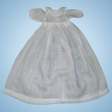 Nice Small Early Doll Gown