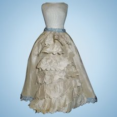 Lovely Antique Fashion / Lady Silk Doll Skirt
