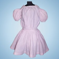 Pink Cotton Antique Doll Dress