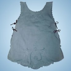 Wonderful Antique Pinafore / Apron for a Large Doll