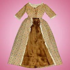 Wonderful 3 Pc Dress Set for an Antique China, Papier Mache