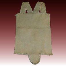 Nice Early Wool Baby Doll Undergarment, Silk Trim