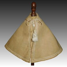 Antique Fashion Doll Cape, Tassels