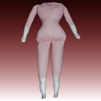 """Vintage 9"""" Cloth Doll Body"""