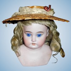 Early Straw Doll Hat
