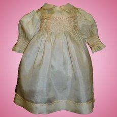 Pretty Silk Doll Dress