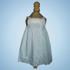 Cotton Eyelet Doll Chemise