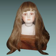 Fabulous Long Human Hair Doll Wig