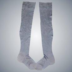 Pair Of Early Vintage Ladies Stockings