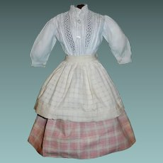 Lovely Antique Skirt / Blouse and Apron for a China, Lady