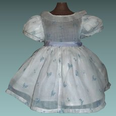 Nice Organdy Doll Dress