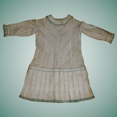Fabulous Antique Calico Print Girl's Dress