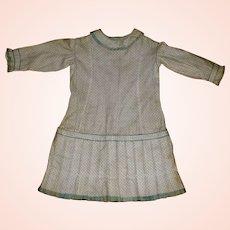 Fabulous Antique Calico Print Girl's Dress