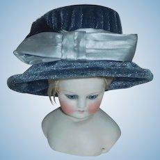 Velvet Fashion Doll Hat